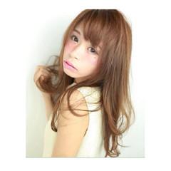 大人女子 ストレート ガーリー ワンカール ヘアスタイルや髪型の写真・画像