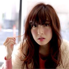 ガーリー モテ髪 グラデーションカラー フェミニン ヘアスタイルや髪型の写真・画像