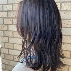 コンサバ ミルクティーブラウン 透明感カラー ショコラブラウン ヘアスタイルや髪型の写真・画像