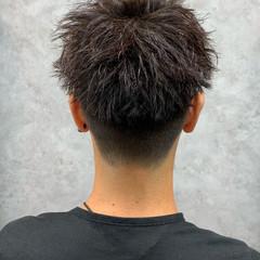 ストリート ツイスト メンズカット メンズショート ヘアスタイルや髪型の写真・画像
