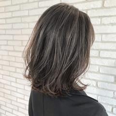 ミディアム 前髪 ベリーショート ストレート ヘアスタイルや髪型の写真・画像