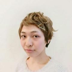 パーマ ふわふわ ヘアアレンジ ガーリー ヘアスタイルや髪型の写真・画像