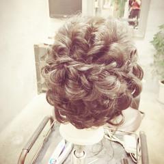 ロング ヘアアレンジ フェミニン 結婚式 ヘアスタイルや髪型の写真・画像