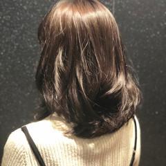 ロブ 簡単ヘアアレンジ ナチュラル ヘアアレンジ ヘアスタイルや髪型の写真・画像