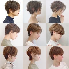 パーマ アウトドア オフィス デート ヘアスタイルや髪型の写真・画像