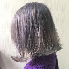 ストリート 透明感 秋 冬 ヘアスタイルや髪型の写真・画像
