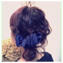 大人かわいい ナチュラル ヘアアレンジ 夏 ヘアスタイルや髪型の写真・画像