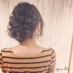 ゆるふわ パーティ ヘアアレンジ ロング ヘアスタイルや髪型の写真・画像