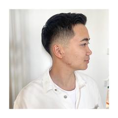 スキンフェード メンズショート メンズカット メンズ ヘアスタイルや髪型の写真・画像
