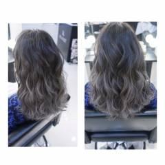 モード ストリート ウェーブ 秋 ヘアスタイルや髪型の写真・画像