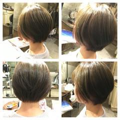 ストリート ハイライト ブルージュ ボブ ヘアスタイルや髪型の写真・画像