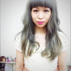 外国人風 ブラウンベージュ 黒髪 ストリート ヘアスタイルや髪型の写真・画像