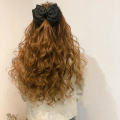 ブライダル ヘアセット ヘアアレンジ ハーフアップ ヘアスタイルや髪型の写真・画像