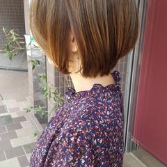大人女子 イルミナカラー 秋 透明感 ヘアスタイルや髪型の写真・画像
