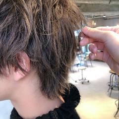 メンズパーマ メンズ ショート メンズカット ヘアスタイルや髪型の写真・画像