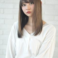 ストレート ロング 髪質改善トリートメント 髪質改善 ヘアスタイルや髪型の写真・画像
