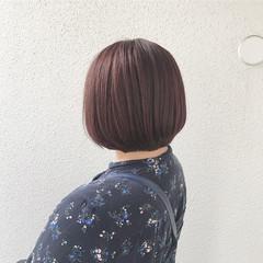 フェミニン ショート 外国人風カラー ブリーチ ヘアスタイルや髪型の写真・画像