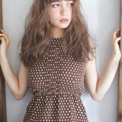 ストリート 大人かわいい ロング 外国人風カラー ヘアスタイルや髪型の写真・画像