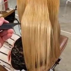 ミディアム ナチュラル 美髪 艶髪 ヘアスタイルや髪型の写真・画像