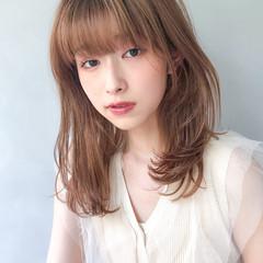 モテボブ 爽やか ホワイトシルバー 外国人風フェミニン ヘアスタイルや髪型の写真・画像