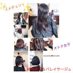 オフィス 上品 ボブ エレガント ヘアスタイルや髪型の写真・画像