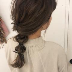 ふわふわヘアアレンジ ロング 透け感ヘア ロングヘアスタイル ヘアスタイルや髪型の写真・画像