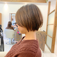 ナチュラル  ショート 可愛い ヘアスタイルや髪型の写真・画像