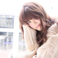 コンサバ 秋 モテ髪 ニット ヘアスタイルや髪型の写真・画像