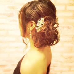 ショート ナチュラル 暗髪 ヘアアレンジ ヘアスタイルや髪型の写真・画像