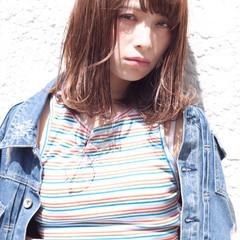 愛され ストリート 外国人風 ミディアム ヘアスタイルや髪型の写真・画像