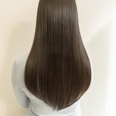 艶髪 ナチュラル 髪質改善トリートメント ロング ヘアスタイルや髪型の写真・画像