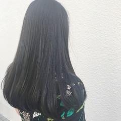ナチュラル オフィス 黒髪 デート ヘアスタイルや髪型の写真・画像