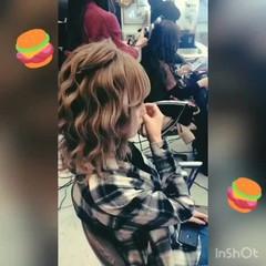 ヘアアレンジ ガーリー モテ髪 ふんわり ヘアスタイルや髪型の写真・画像