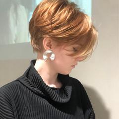モード かっこいい ショート ジェンダーレス ヘアスタイルや髪型の写真・画像