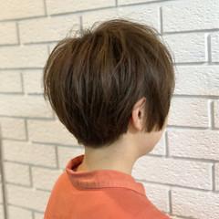 グレージュ ナチュラル 木村カエラ ショート ヘアスタイルや髪型の写真・画像