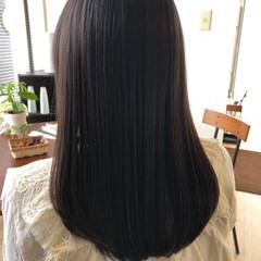 ナチュラル 髪質改善 ロング 髪の病院 ヘアスタイルや髪型の写真・画像