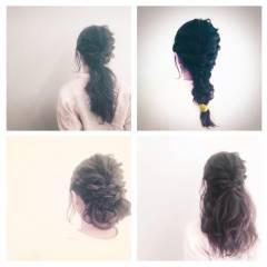 愛され ヘアアレンジ 春 モテ髪 ヘアスタイルや髪型の写真・画像