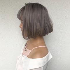 外国人風カラー ハイトーン モード ダブルカラー ヘアスタイルや髪型の写真・画像