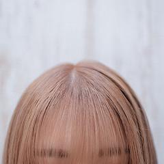 フェミニン ボブ ハイトーンカラー ミニボブ ヘアスタイルや髪型の写真・画像