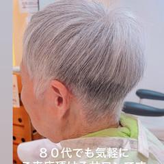 ベリーショート ミニボブ ショート ナチュラル ヘアスタイルや髪型の写真・画像