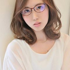 かわいい ゆるふわ フェミニン ミディアム ヘアスタイルや髪型の写真・画像
