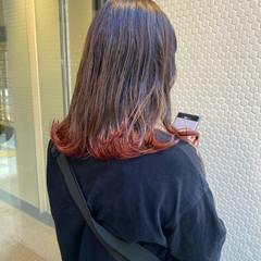 ブリーチ ブリーチカラー 外ハネ ストリート ヘアスタイルや髪型の写真・画像