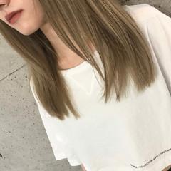 ブリーチオンカラー ブリーチ必須 ナチュラル ブリーチ ヘアスタイルや髪型の写真・画像