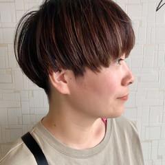 ショート 刈り上げ ストリート マッシュ ヘアスタイルや髪型の写真・画像