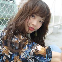 ロング 大人かわいい かわいい 透明感 ヘアスタイルや髪型の写真・画像