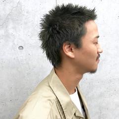 マット メンズ ストリート ショート ヘアスタイルや髪型の写真・画像