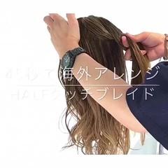 ヘアアレンジ 編み込み 簡単ヘアアレンジ デート ヘアスタイルや髪型の写真・画像