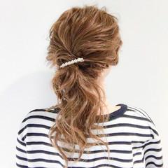 エレガント バレンタイン 結婚式 ロング ヘアスタイルや髪型の写真・画像