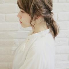 ショート 簡単ヘアアレンジ 大人女子 大人かわいい ヘアスタイルや髪型の写真・画像