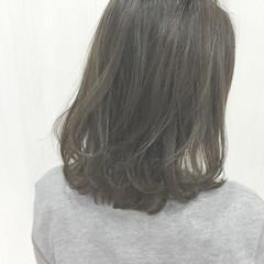 ストリート ボブ 色気 ミディアム ヘアスタイルや髪型の写真・画像